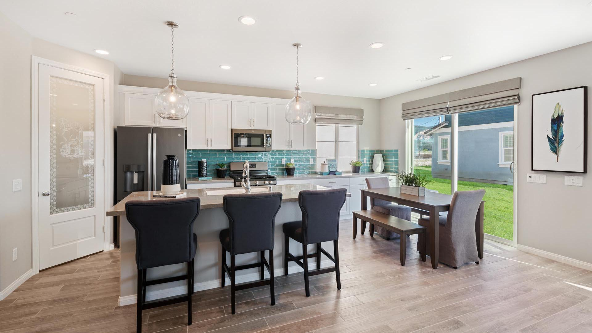 Plan 2 Kitchen to Dining Area