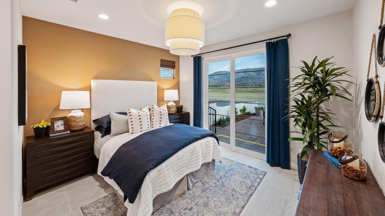 Bedroom Residence 4 The Orchards at Heritage Grove Fillmore