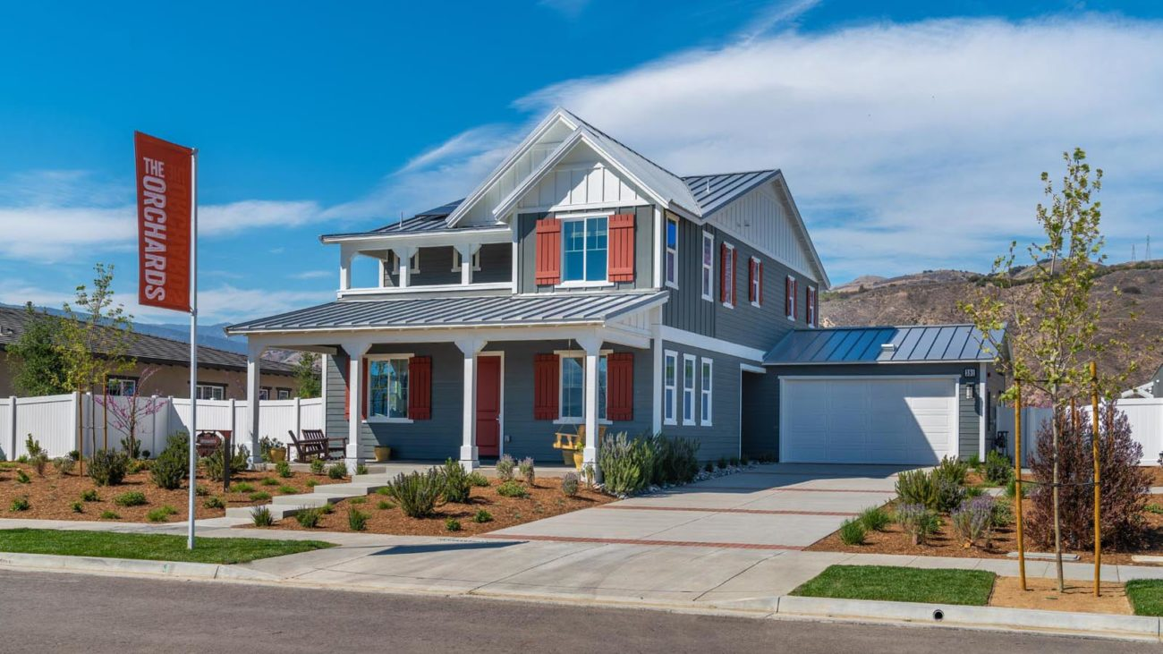 Exterior Residence 2 The Orchards at Heritage Grove Fillmore
