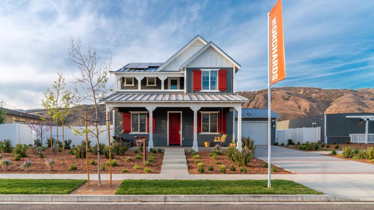 Model Residence 2D The Orchards at Heritage Grove Fillmore