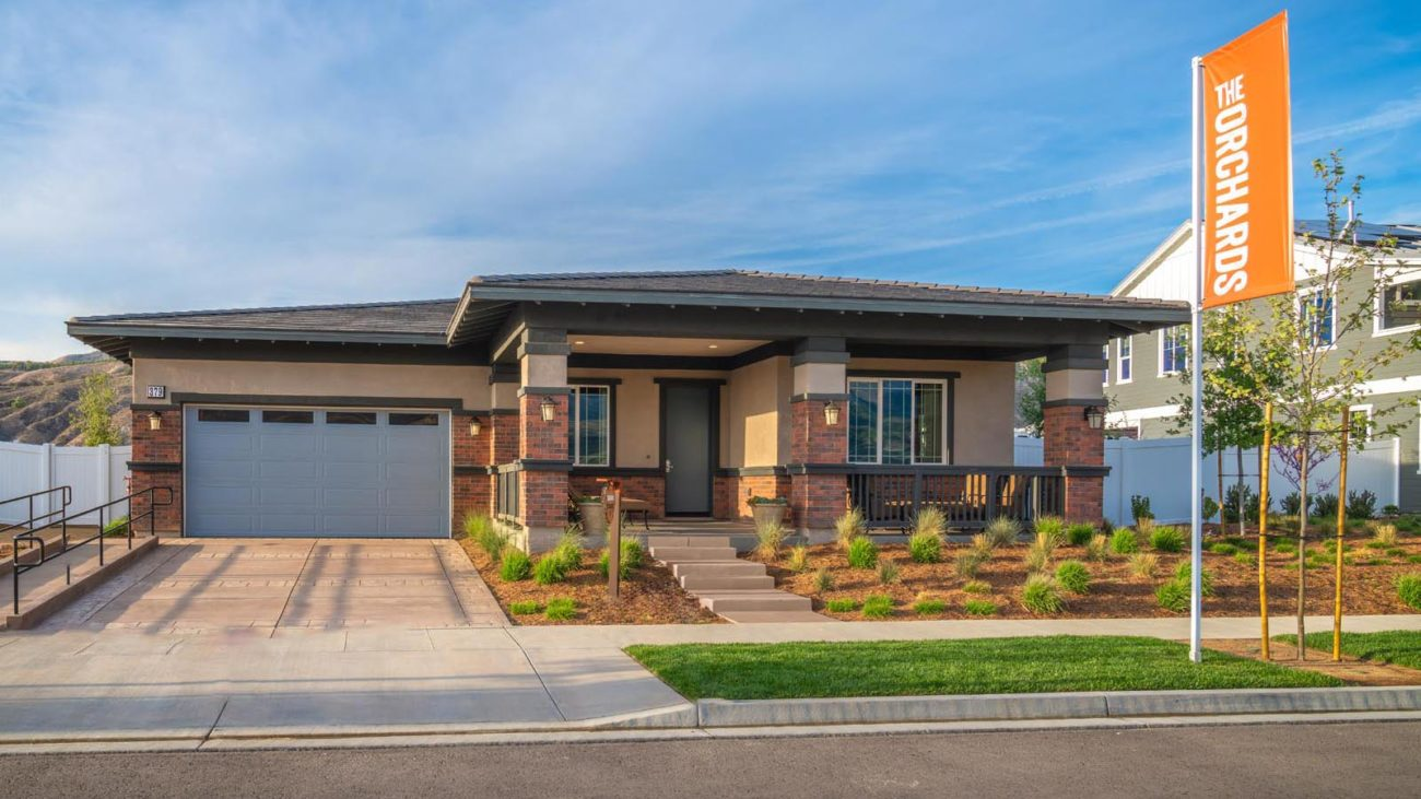 Exterior Residence 1 The Orchards at Heritage Grove Fillmore