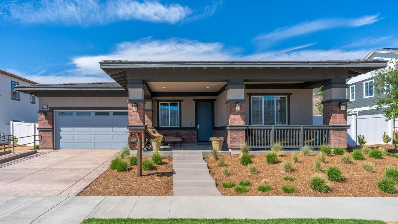 Model Residence 1G The Orchards at Heritage Grove Fillmore