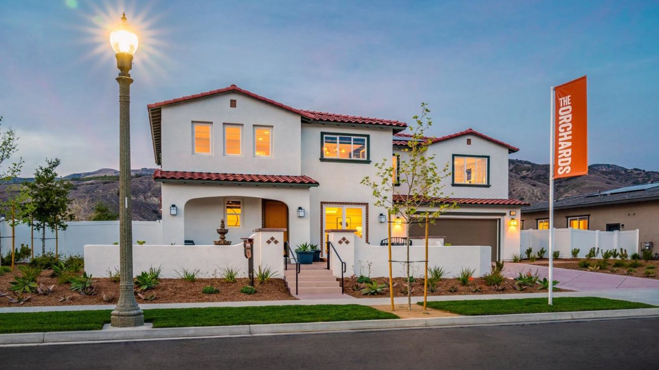 Exterio Residence 4 The Orchards at Heritage Grove Fillmore