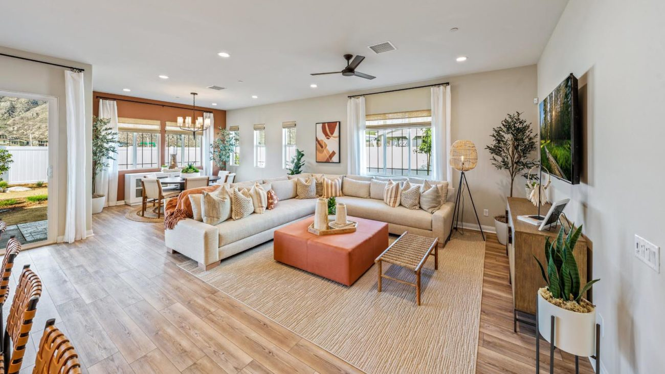 Great Room Residence 1 The Orchards at Heritage Grove Fillmore