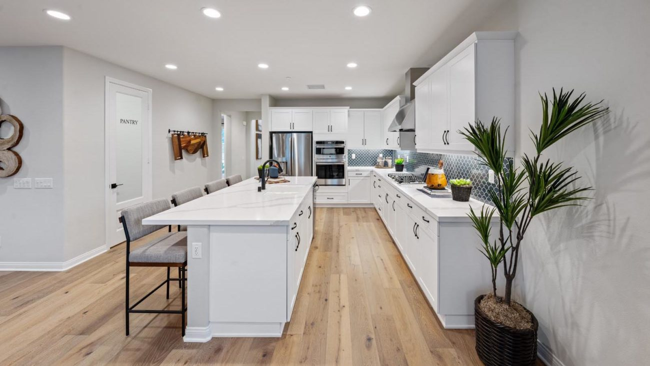 Kitchen Residence 4 The Orchards at Heritage Grove Fillmore